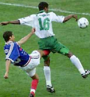 Футбольные столкновения