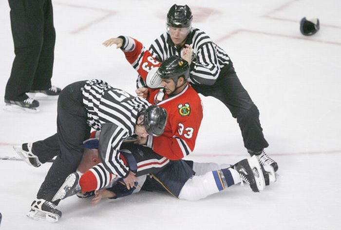 Хоккейные драки 1