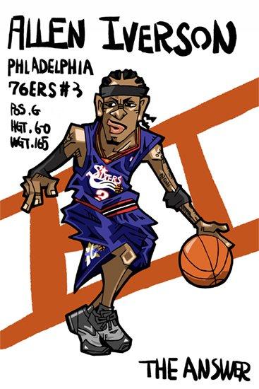 Баскетбольные карикатуры 4