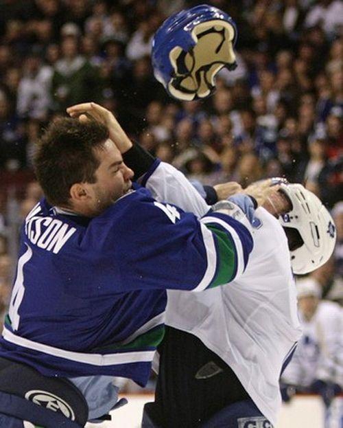 Хоккейные драки 2