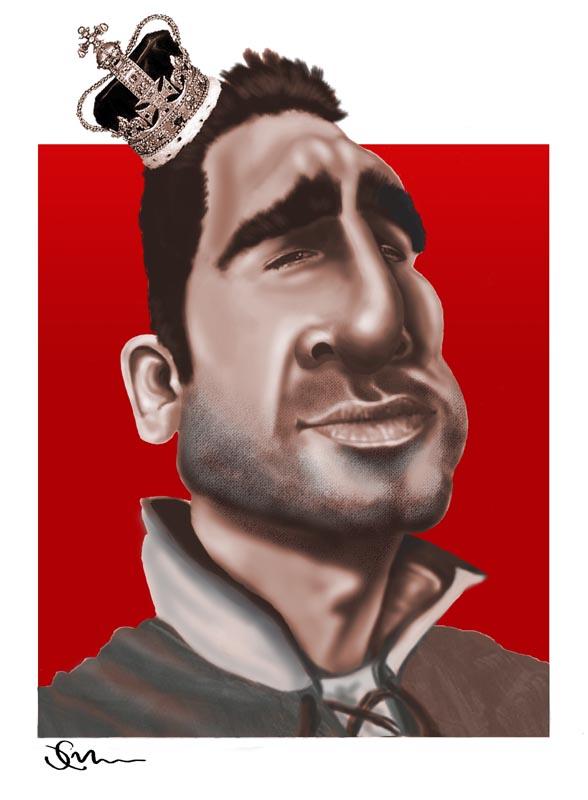 Каррикатуры на футболистов МЮ 2