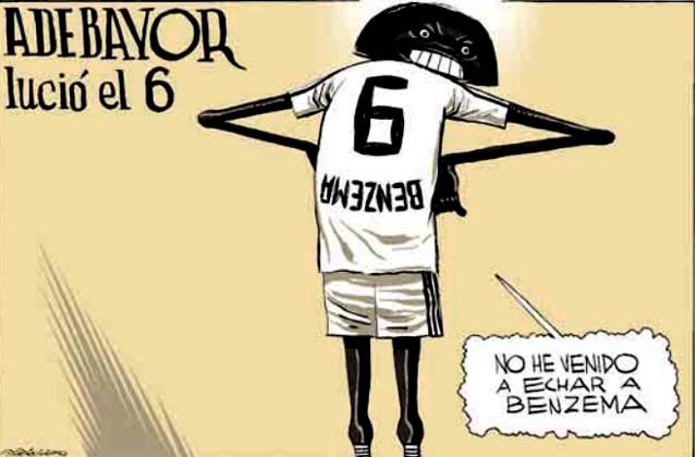 Каррикатуры на футболистов Реал Мадрида 2