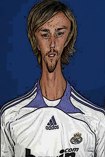 Каррикатуры на футболистов Реал Мадрида 1