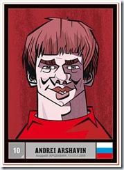 Карикатуры на Андрея Аршавина