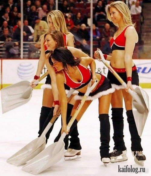 Хоккейные приколы