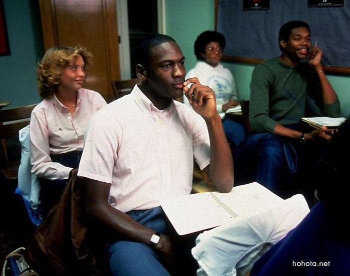 Майкл Джордан в молодости