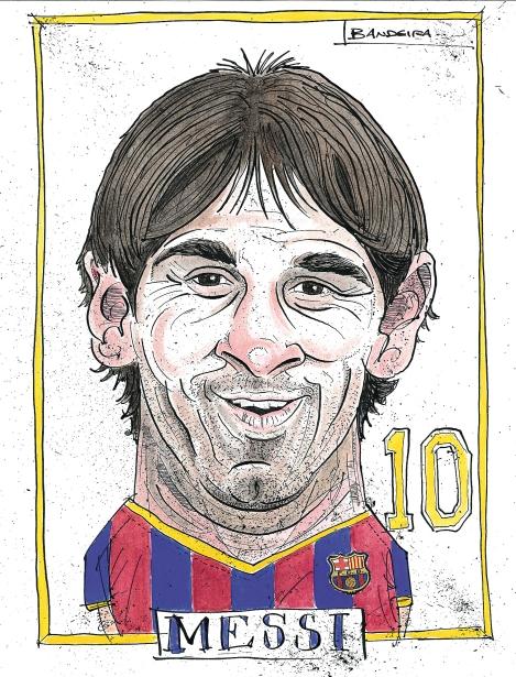 Карикатуры на футбольных легенд (Graeme Bandeira)