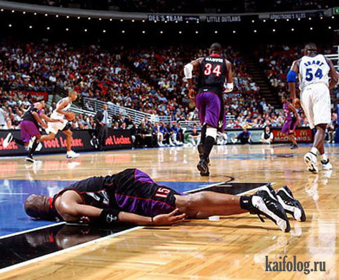 В баскетбол можно играть и так